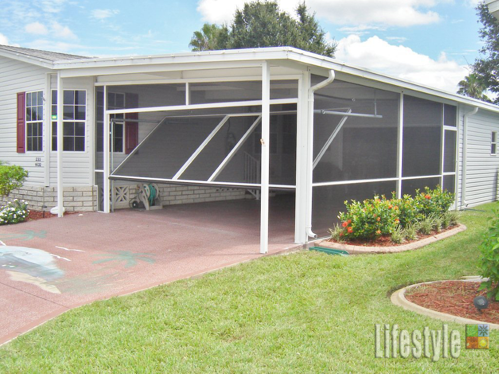 Screen carport lifestyle screens for Carport construction costs