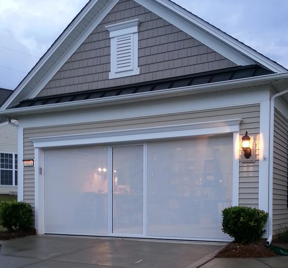 Lifestyle screens lifestyle garage screens the most for Roll down garage door screen
